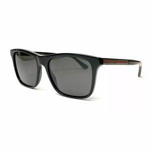 Gucci Men's Black Rectangle Authentic Sunglasses!